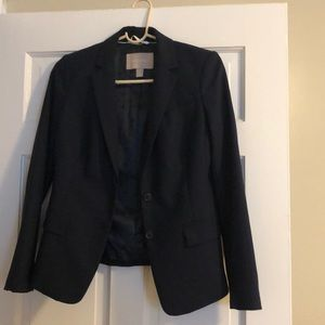 Navy Blazer with Silk Inner Lining